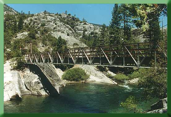 Cassidy Bridge and San Joaquin River, July 2000.